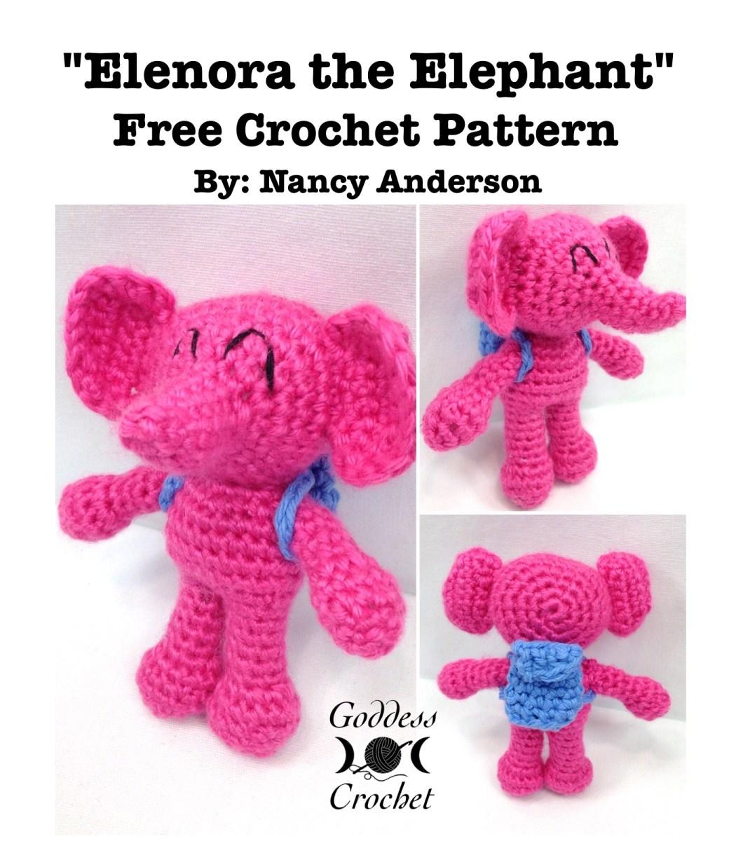 Amigurumi Elephant – Free Crochet Pattern Review – Goddess Crochet
