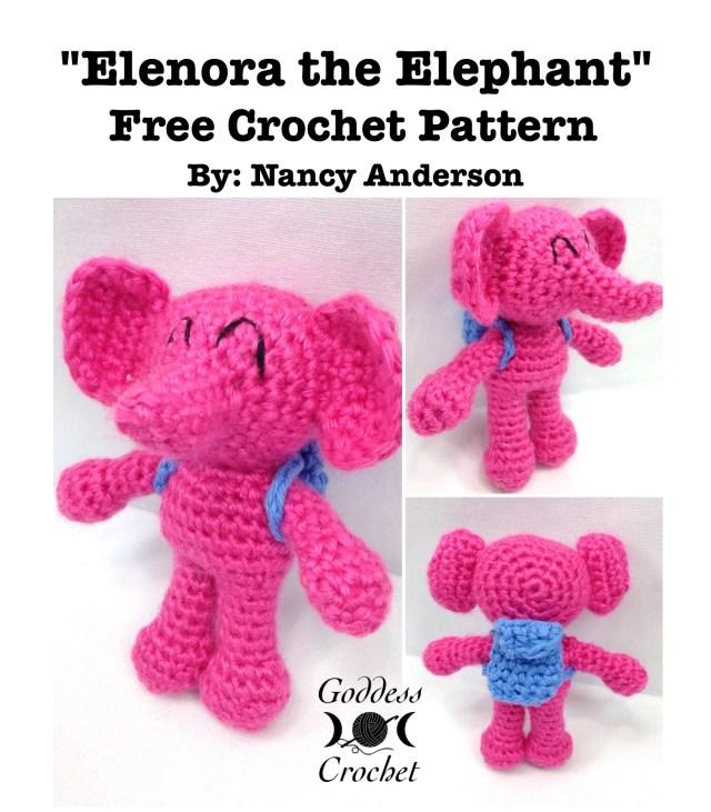 Amigurumi Elephant - Free Crochet Pattern