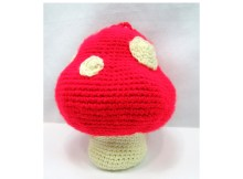Mushroom Purse - Free Crochet Pattern