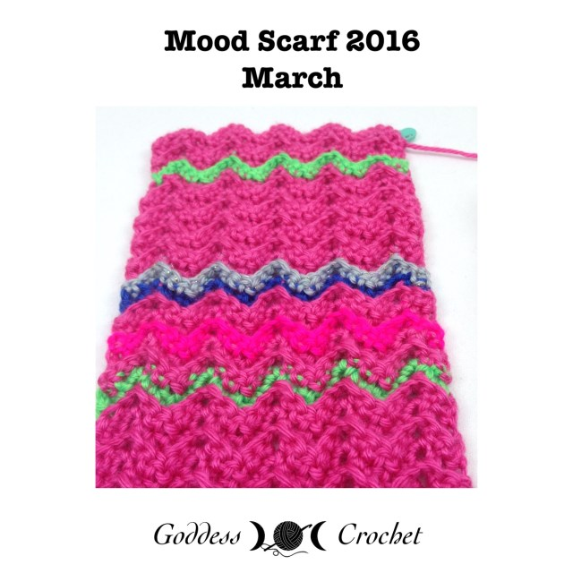 Crochet Mood Scarf 2016 - Goddess Crochet