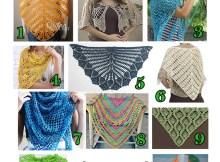 Spring Shawls - Free Crochet Pattern Round Up