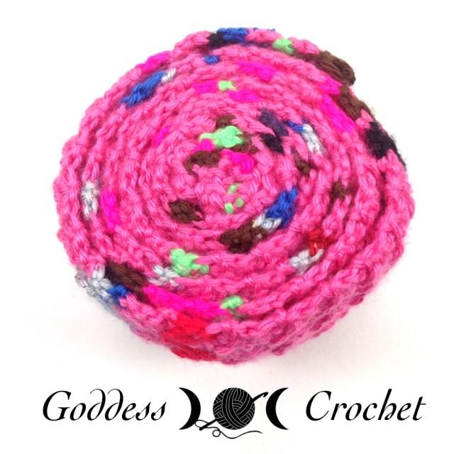 Crochet Mood Scarf 2016 - July