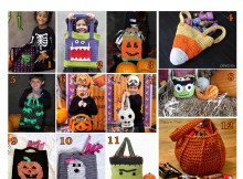 Trick or Treat Bags - Free Crochet Pattern Round Up