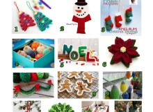 Christmas Decorations - Free Crochet Pattern Round Up