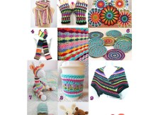 Scrap Yarn Projects - Free Crochet Pattern Round Up