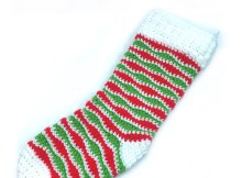 Jolly Holiday Stocking - Free Crochet Pattern
