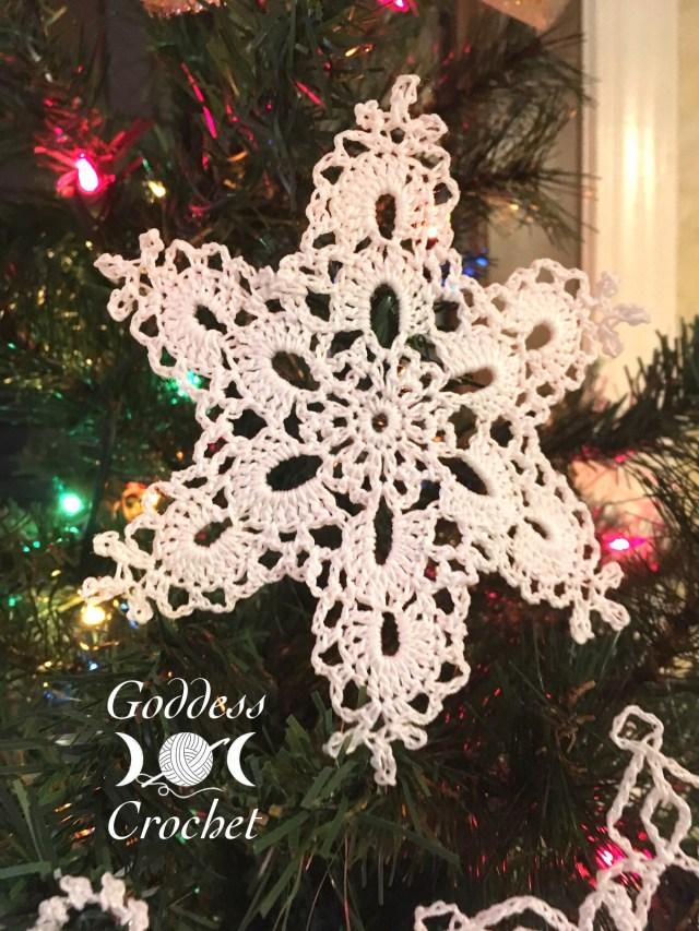 Crochet Snowflake - Goddess Crochet
