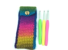 Crochet Hook Pouch - Free Crochet Pattern