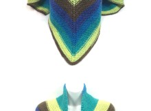 The Easiest Shawl - Free Knitting Pattern