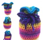 Small Gift Bag - Free Crochet Pattern
