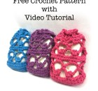 Lacy Picot Soap Saver - Free Crochet Pattern with Video Tutorial