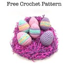 Easter Eggs - Free Crochet Pattern