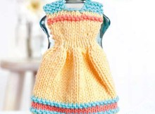 Dishcloth Dresses - Knitting Pattern Book by Leisure Arts