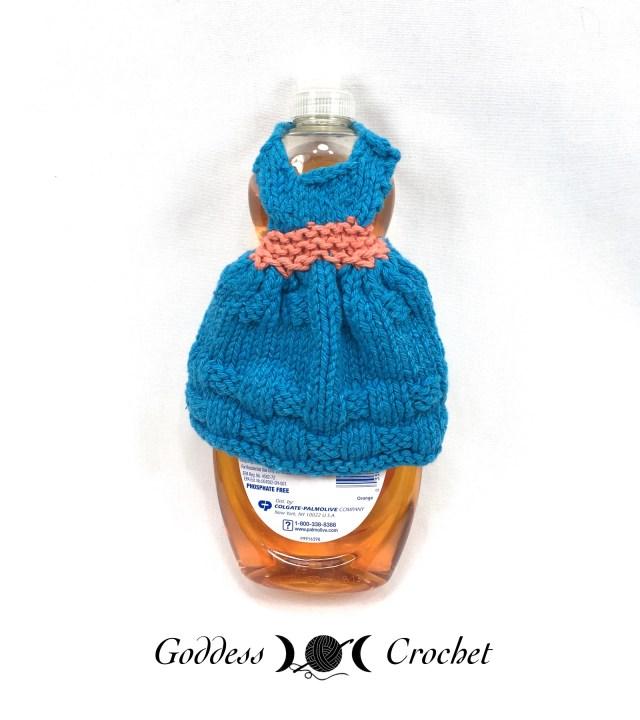 Dishcloth Dresses Knitting Pattern Book Goddess Crochet