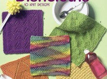 Kitchen Bright Dishcloths - Knitting Book