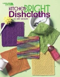 Kitchen Bright Dishcloths - Knitting Book