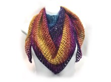 Mesh Triangle Shawl - Free Knitting Pattern