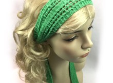 Knit Girl Headband - Free Knitting Pattern