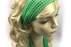 Knit Girl Headband - Free Knitting Pattern