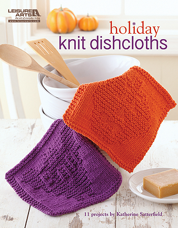 Knit Holiday Dishcloths - Book Review