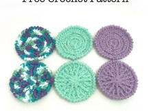 Face Scrubbies - Free Crochet Pattern