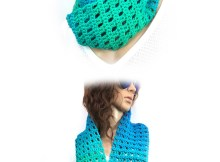 One Skein Infinity Scarf - Free Crochet Pattern