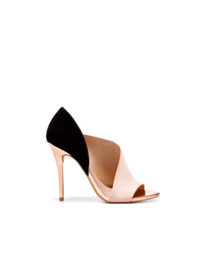 LAMINATED HEEL SANDAL by Zara, EUR 59.95