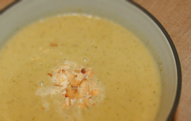 Cauliflower Broccoli Cream Soup