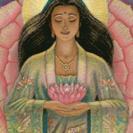 Goddess Quan Yin by Artist Sue Halstenberg ©