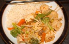 Tofu Stirfry
