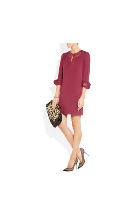 Diane Von Furstenberg silk crepe dress €483 at www.netaporter.com
