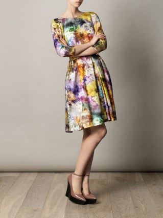 Floral Dancehall dress in exquisite silk by Suzannah at Matches fashion.com £750