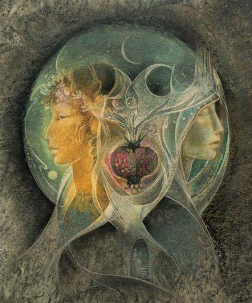 Demeter & Persephone by Susan Seddon Boulet