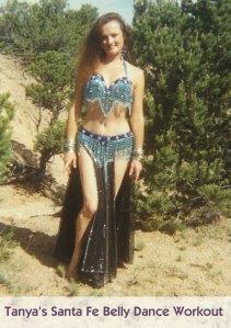 DVD - Tanya's Santa Fe Belly Dancing I