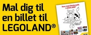 Mal dig til en gratis børnebillet til LEGOland - fribilletter til LEGOland
