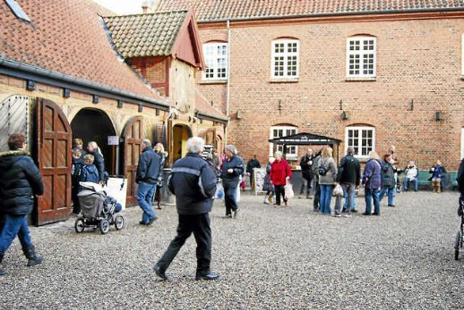 Julemarked på Gisselfeld Kloster