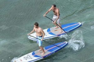 kxone-adventure-sup-stand-up-paddle-board-in-use