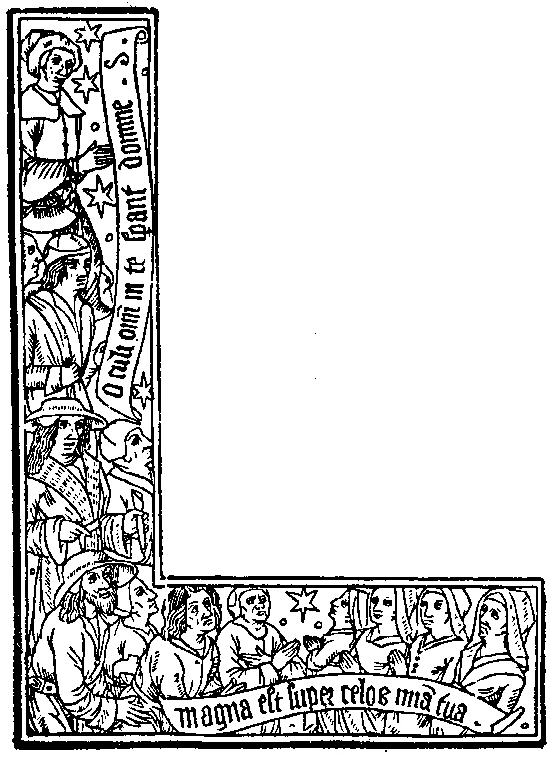 Medieval Woodcuts Clipart Collection