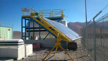 Monitoring and remote operation of water pumping systems - Codelco - Ojos de San Pedro Station 4