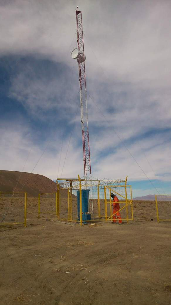 Monitoring and remote operation of water pumping systems - Codelco - Ojos de San Pedro Station 5