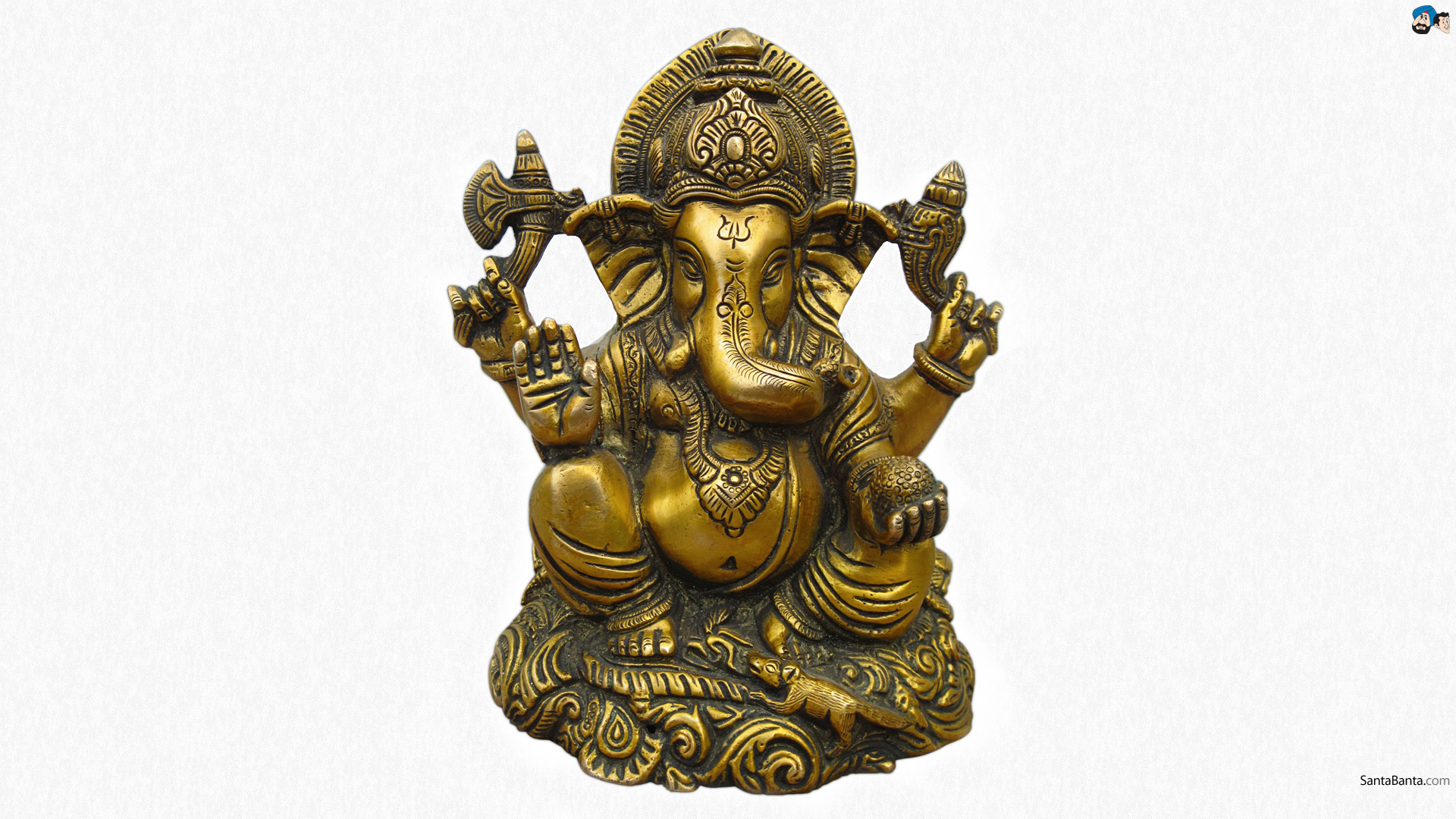 Www Hindu God Wallpaper Com Cute Ganeshji Lord Ganesha God Hd Wallpapers
