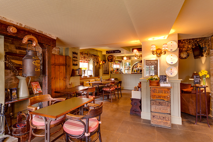 The Exeter Arms Easton On The Hill Menus Reviews And