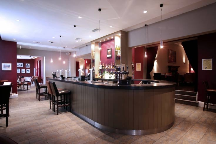 The Old White Hart Inn in Northampton  Menus Reviews and