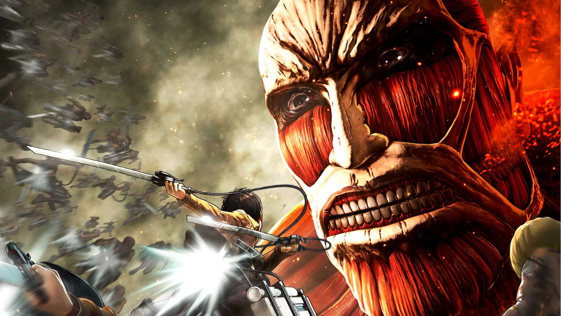 Check out this fantastic collection of wings of freedom attack on titan wallpapers, with 32 wings of freedom attack on titan background images for your. Attack on Titan: Wings of Freedom Review