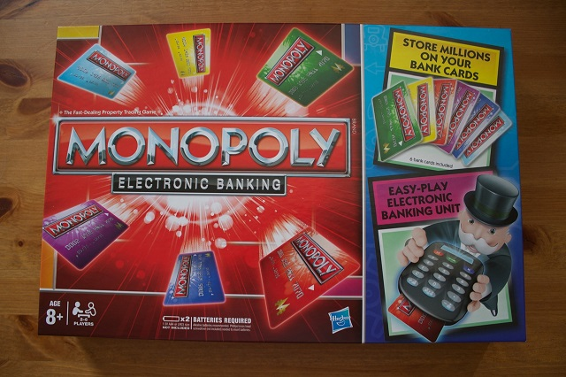 Shop joe cooper's easy credit auto today! Monopoly: Electronic Banking Board Game Review   GodisaGeek.com