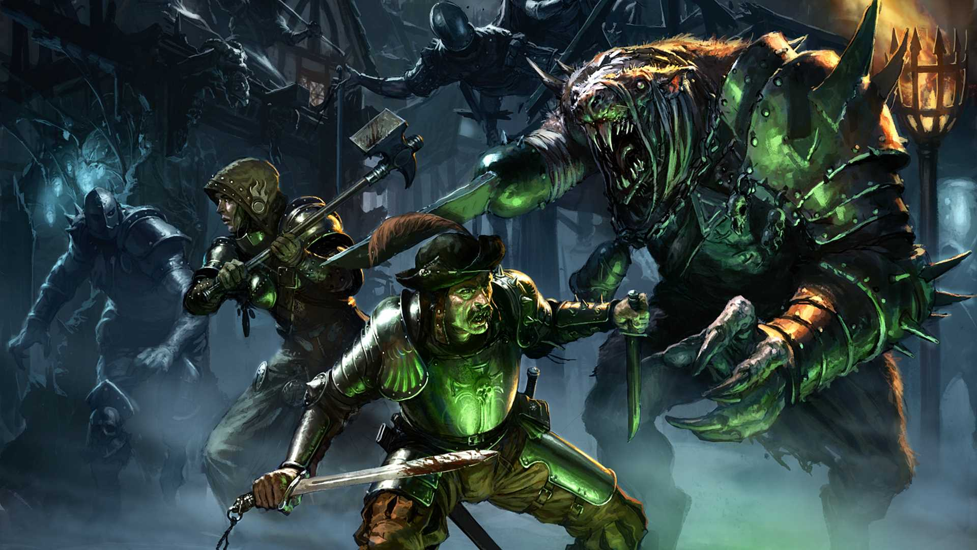 Live Fall Wallpaper For Pc Mordheim City Of The Damned Review