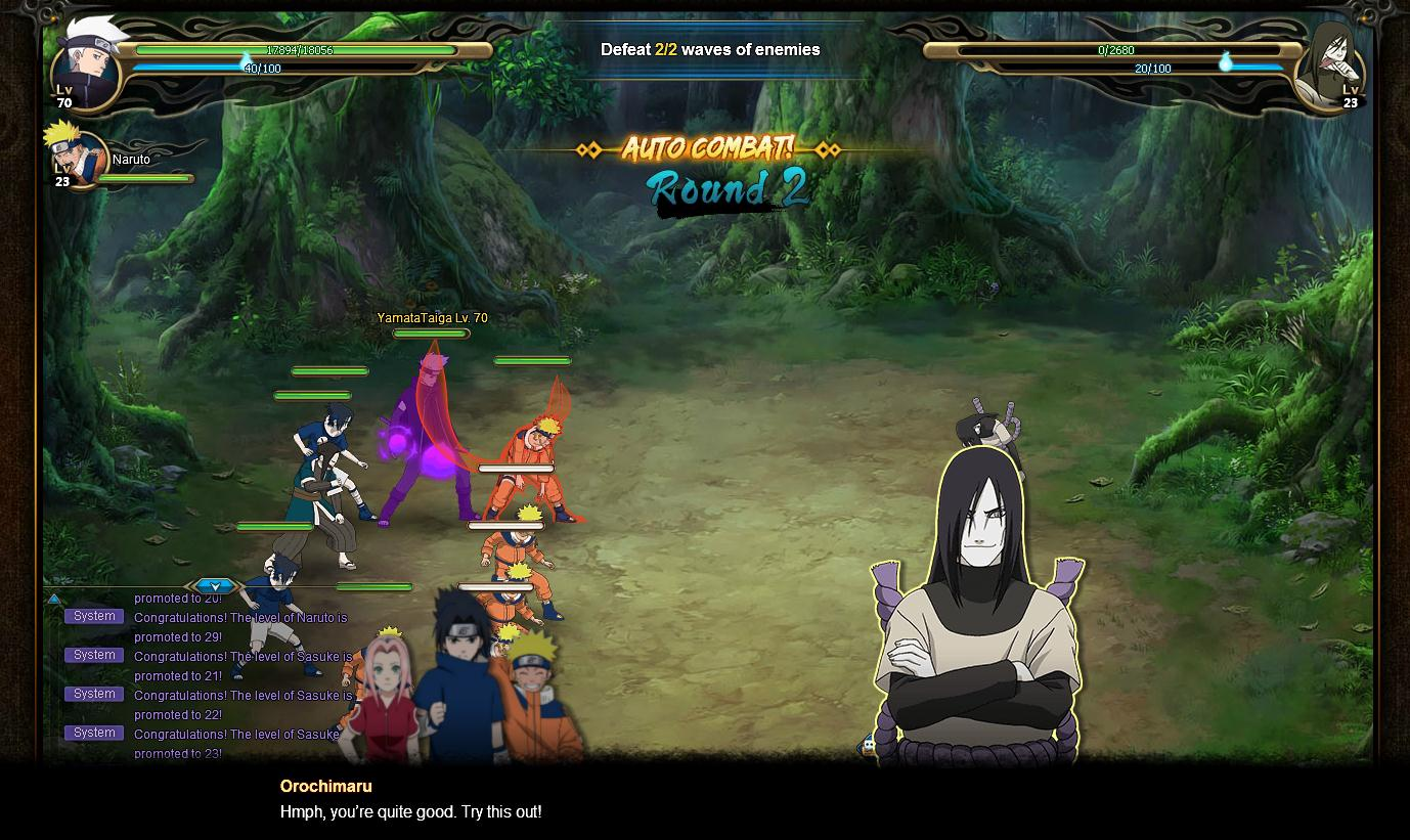 Naruto Online MMORPG Available Now For PC And Mac