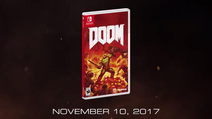 DOOM Releases On Nintendo Switch On November 10