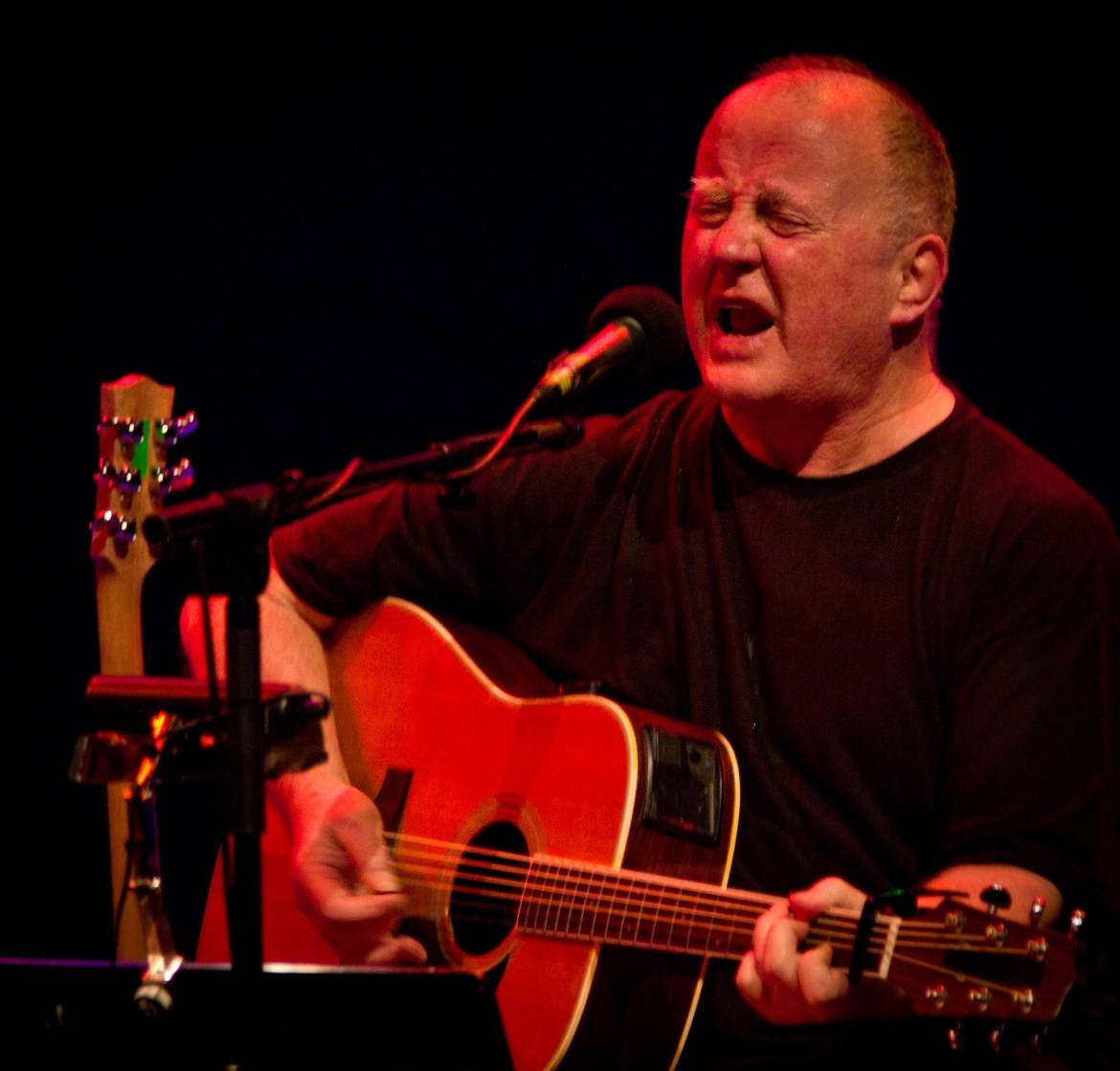 Christy Moore, the Royal Festival Hall, London, 04/04/12