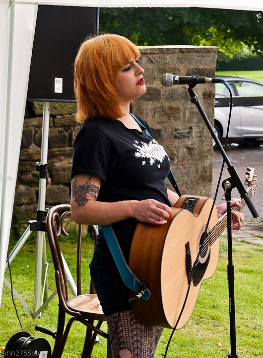 Louise Distras launches webisodes of her street performances